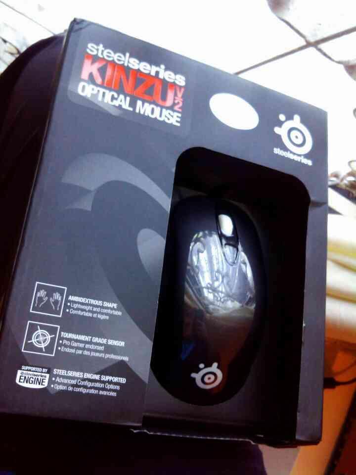 [WTS] Mouse Steelseries Kinzu V2 Rubberized (Like new!! Pemakaian baru 1 minggu)