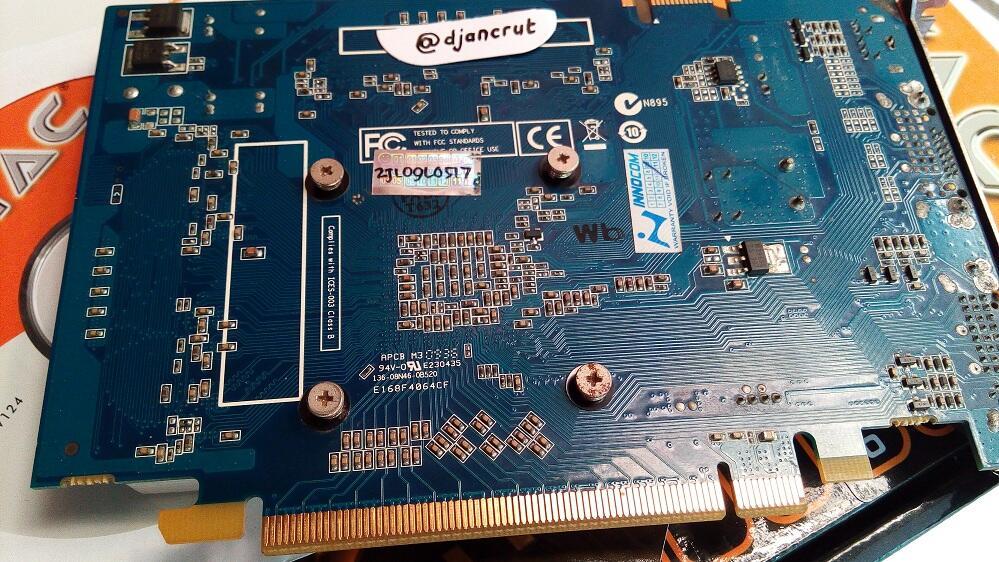 Jual RUGI,, VGA NVidia Geforce 9400GT Zotac