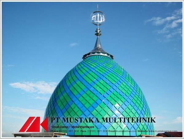 Kontraktor Kubah Masjid, Kubah Dekoratif, Kubah Panel dll
