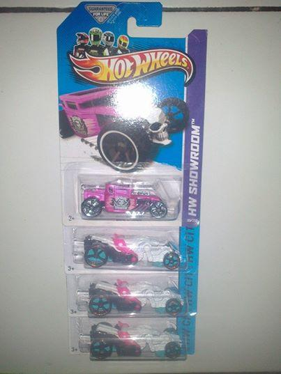 Hot Wheels paket 1 Bone shaker 3 Spector