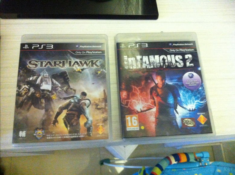 [WTS] BD PS 3 Starhawk , InFamous 2