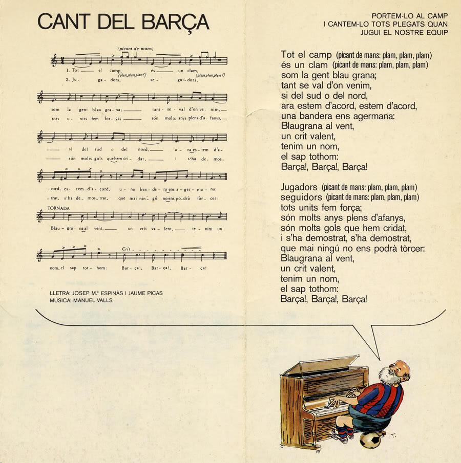Hymne Klub Bola Terkenal Eropa