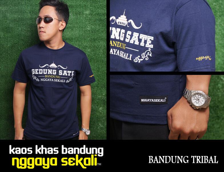 == HEBOH !!!! Kaos Khas Bandung NGGAYA SEKALI==