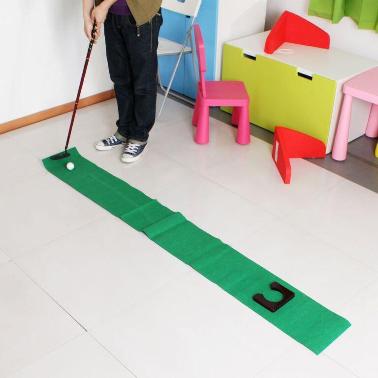 Mini Golf set Portable Golf set buat di kantor atau dirumah