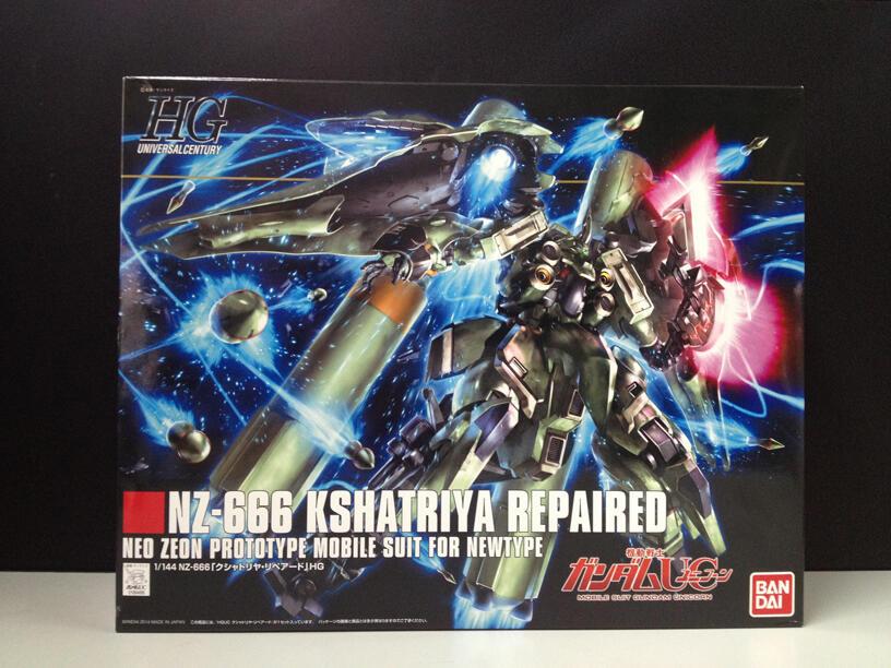 [WTS] NZ-666 Kshatriya Repaired BNIB