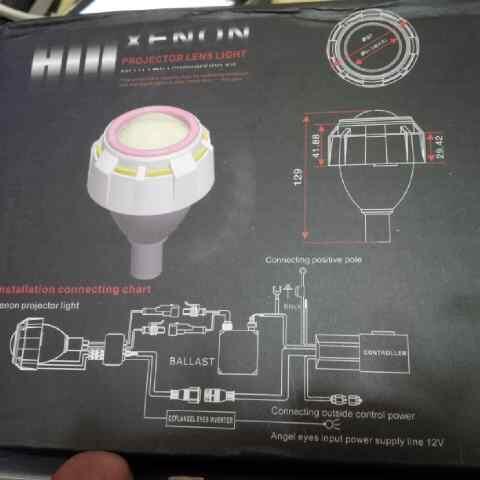 (jual) Projector bixenon & mini foglamp projector universal