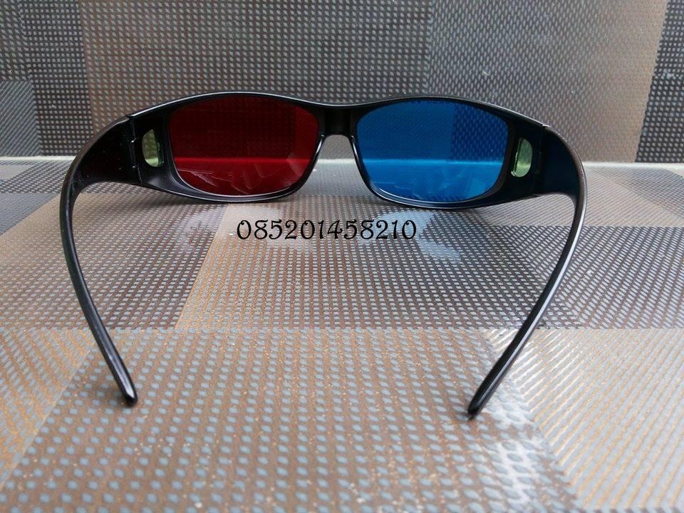 Terjual Kacamata 3D Nvidia Vision Anaglyph Red-Cyan ECERAN  b68f0c9ebc