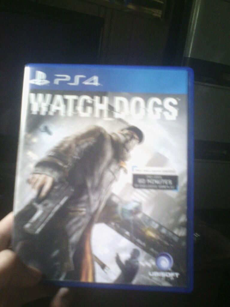 JUAL / Barter BD PS4 WATCHDOG BANDUNG