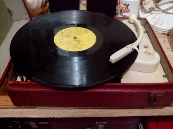 WTS turntable philips tahun 1953