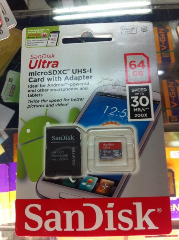 Jual Ready Stock Micro SD Card Sandisk 8GB,16GB,32GB,64GB Sealed,,Harga Mantap