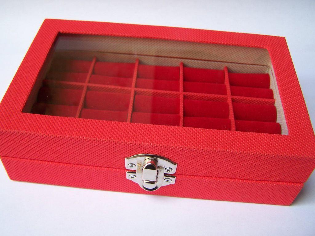 Kotak Cincin / Kotak Perhiasan. Kristal, Beludru, dll