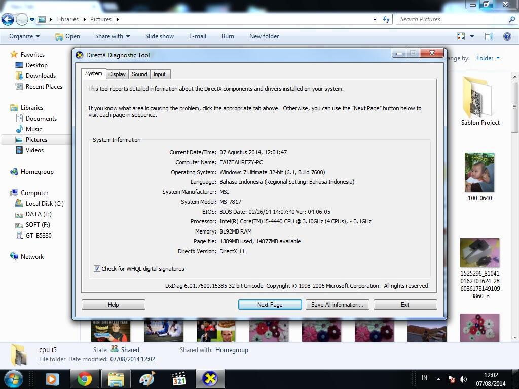 JUal cepat, Nego bebas, CPU gaming i5 haswel, malang