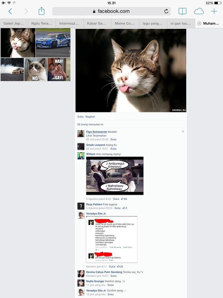 [NGAKAK]Penasaran Asal mula kata amburegul dan link fb orangnya? Masuk Gan!