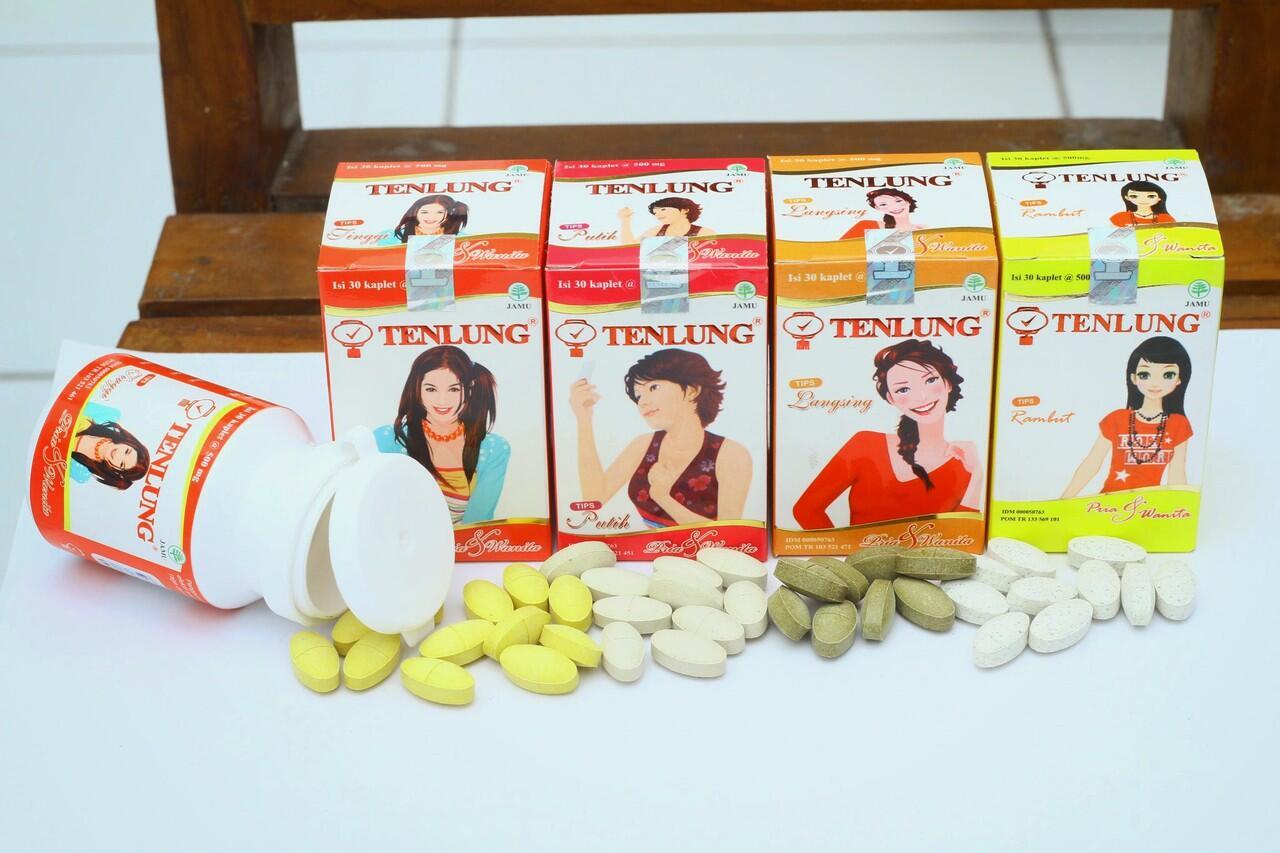 Jamu Herbal Pelangsing Peninggi Pemutih dan Vitamin Rambut