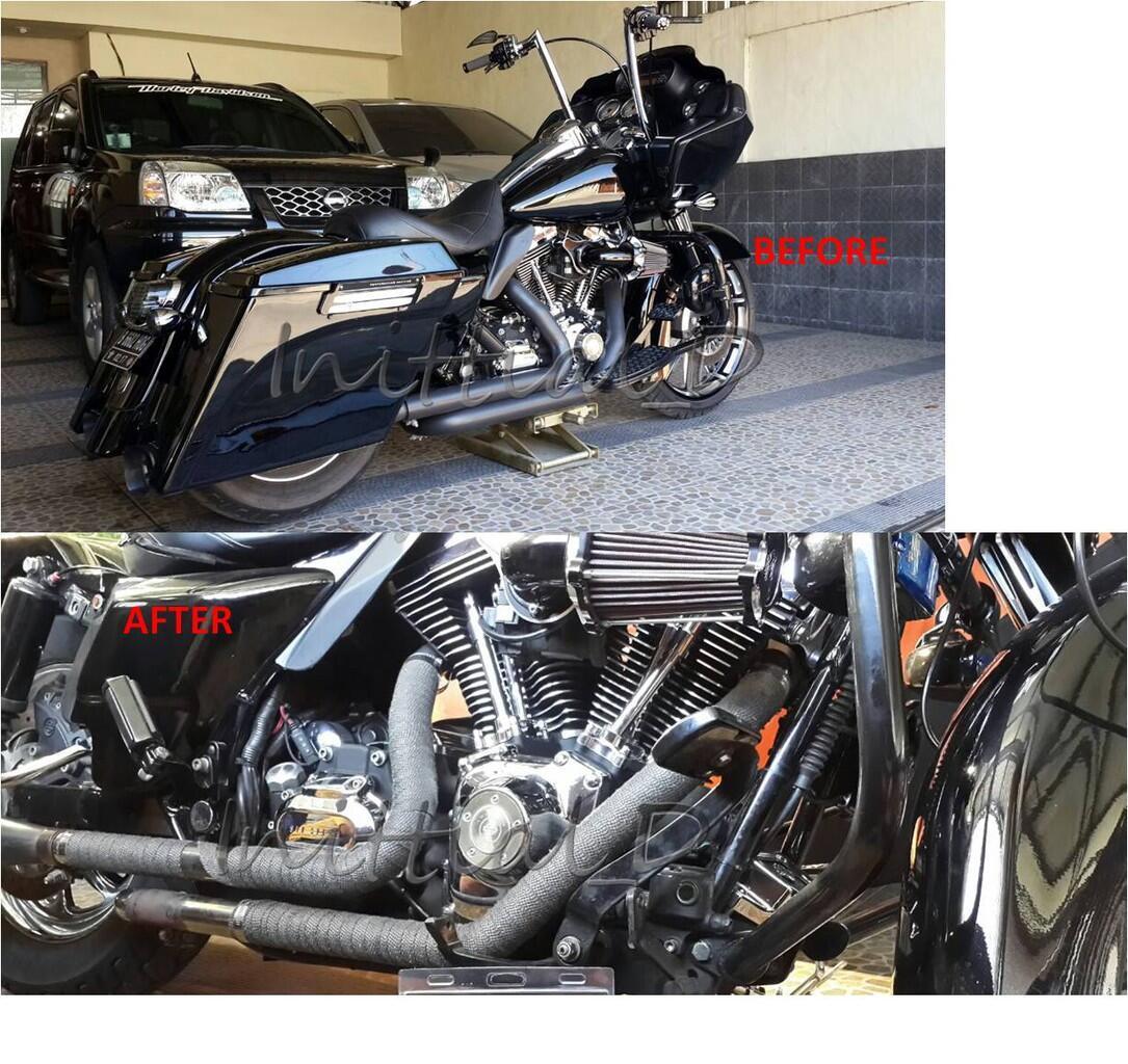 [WTS] Exhaust Wrap / Pembungkus Panas Header Knalpot [DEI ORIGINAL USA]
