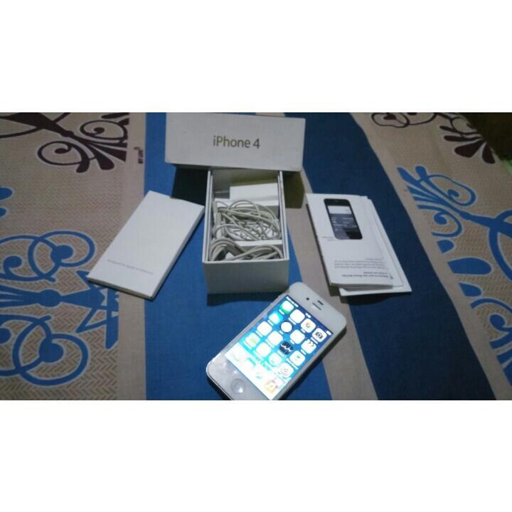 iphone 4 Putih 16 gb FU murmer surabaya gresik