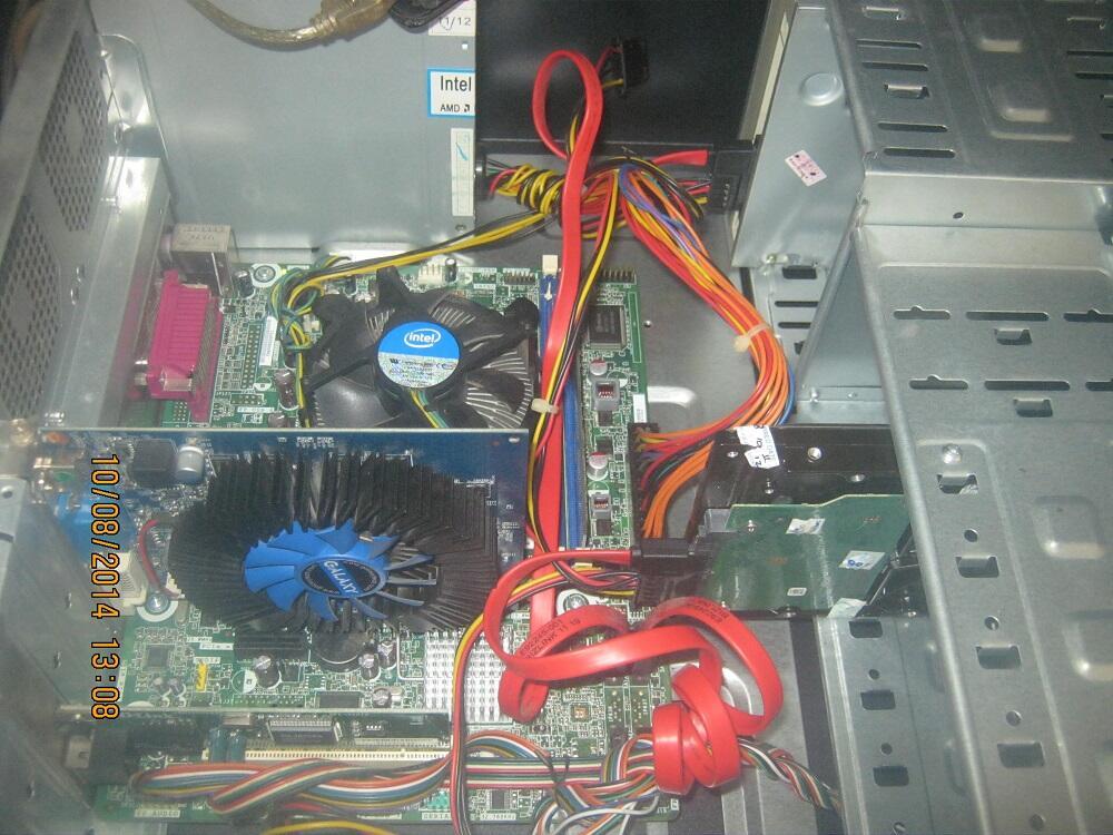 CPU Gaming Core i3 MB intel,Ram 2Gb,HDD 500Gb,Vga 1Gb,dvd rw,chas simbada