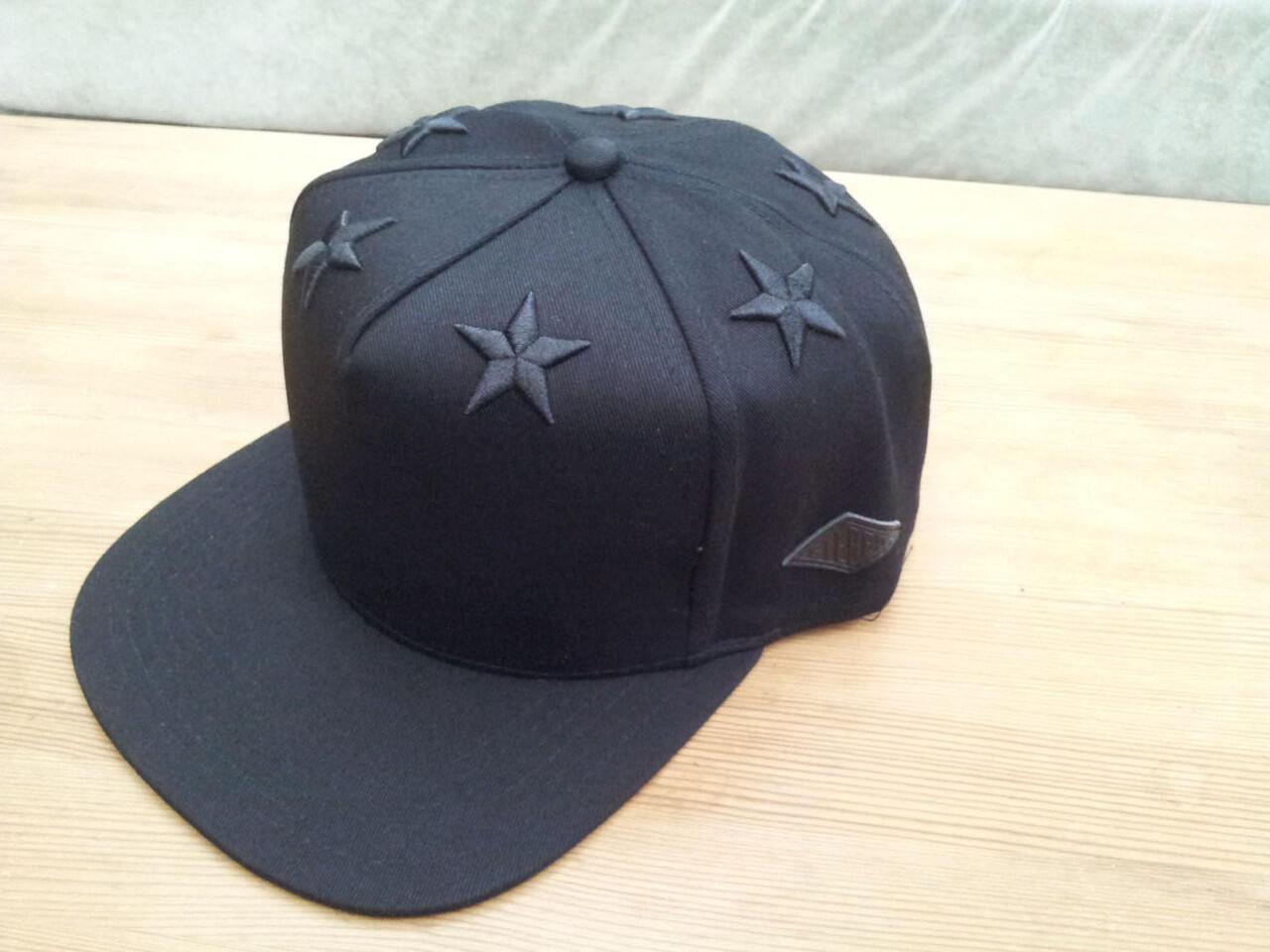 STEREO SIX STARS SNAPBACK SSSSS Classic Stealth (Black/Black)