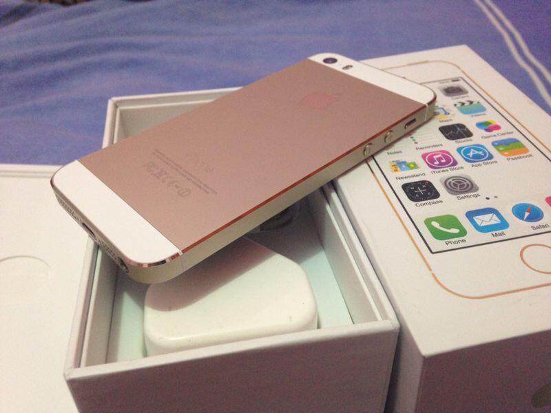 iphone 5s 16gb & 32gb gold