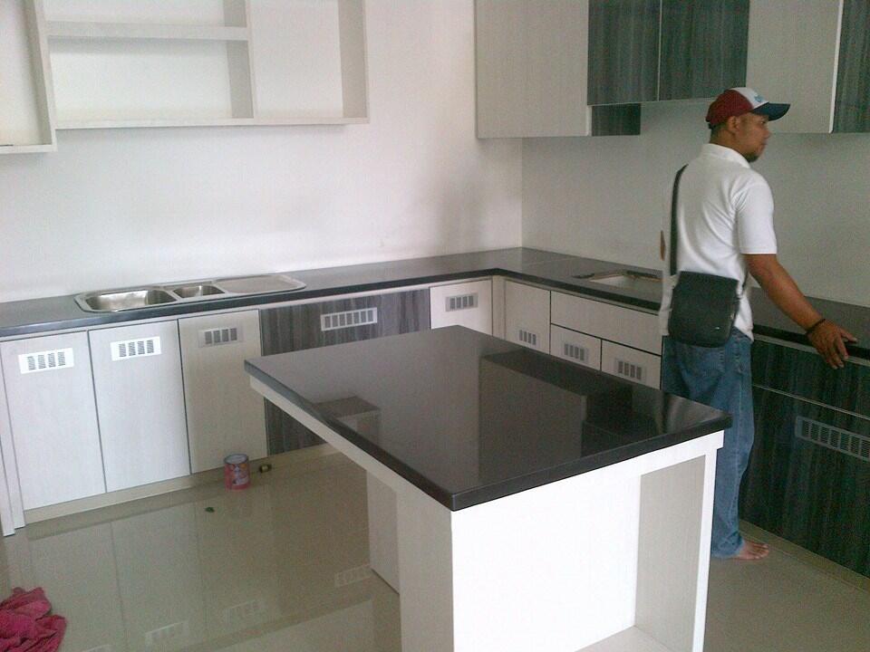 Terjual meja dapur granit marmer KASKUS