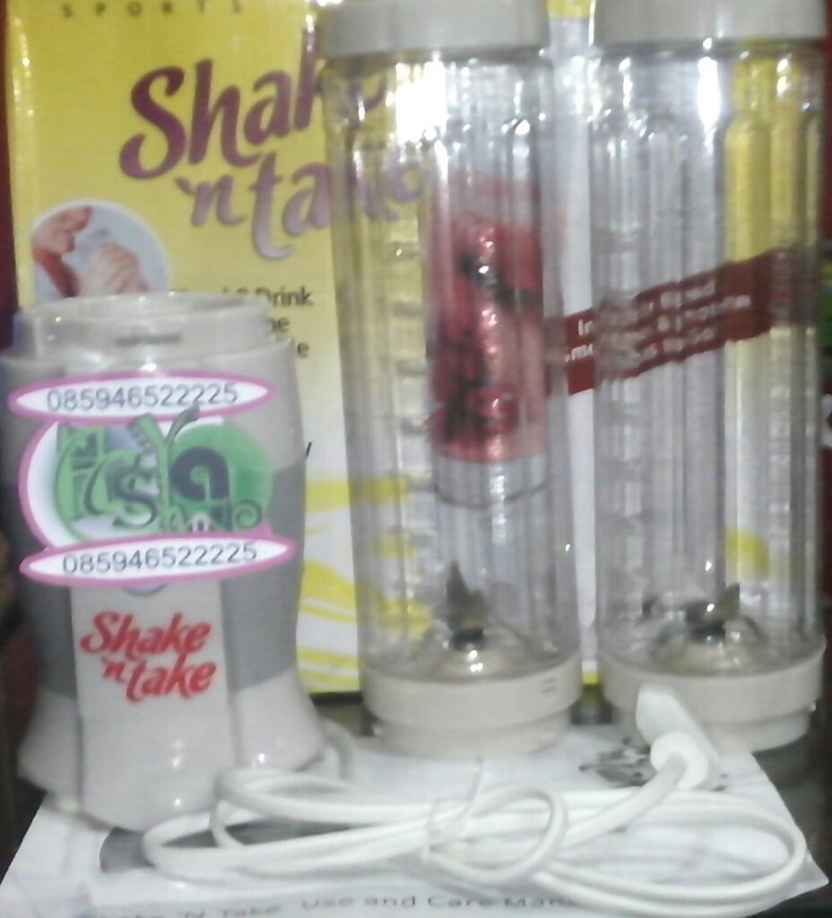 Blender Juicer Shake And Take 2 Tabung