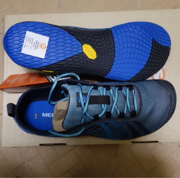 Terjual Barefoot Running Shoes Merrel Vapor Glove Apollo Vibram Sole ... a6e18c0192