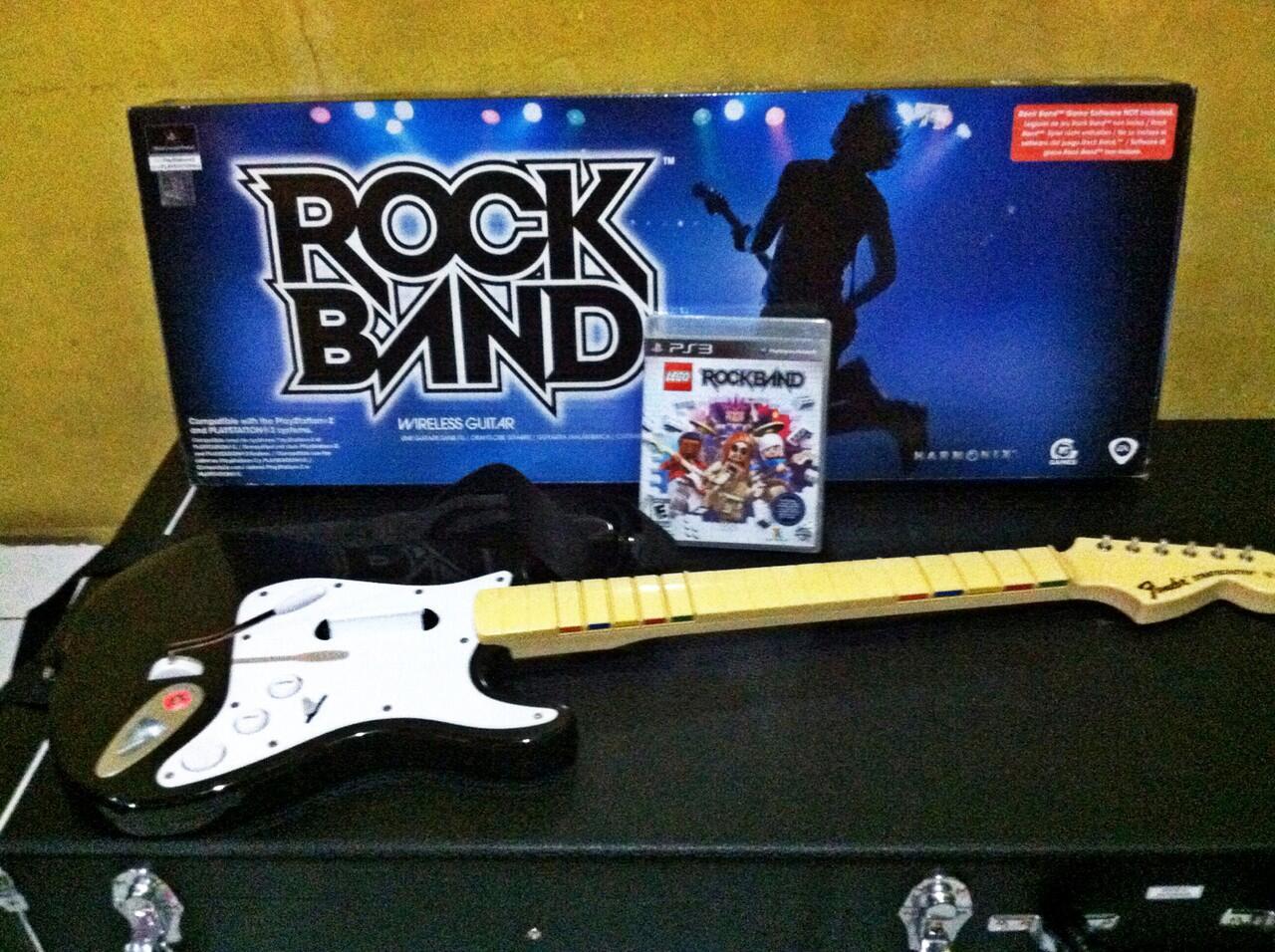 guitar Controller wireless ps3 murah 2nd