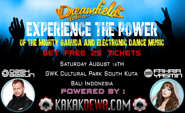 KakakDewa Event @DreamFields Festival, GWK, South Bali