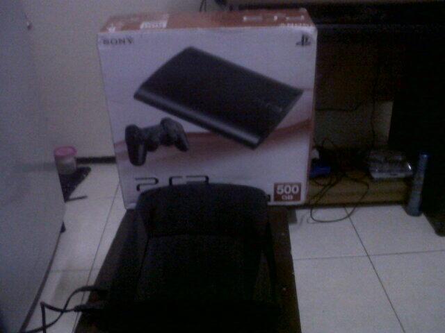 PS3 SUPER SLIM ODE HDD 500GB