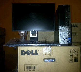 DEKTOP TOWER DELL 790 2ND + LCD WIDE 19 CORE I3 2120-3.2GHZ 2GB HDD 500GB PLUS WIN 7