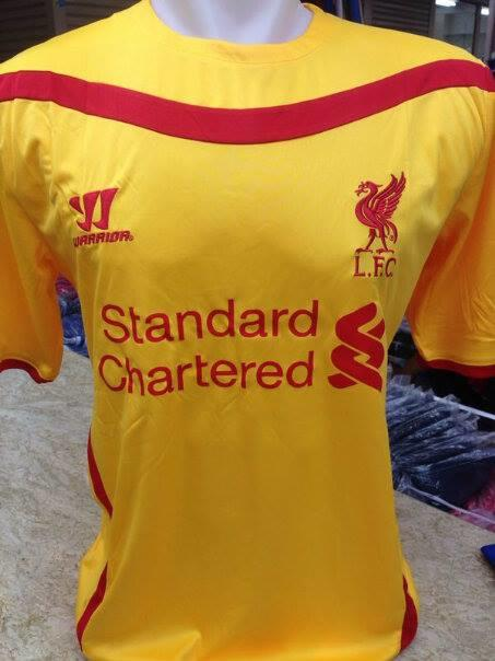 JERSEY LIVERPOOL NEW SEASON 2014-2015 OFFICIAL KUALITAS GRADE ORI