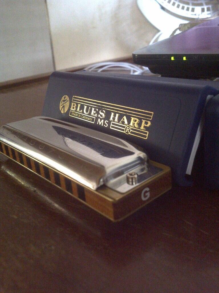 HARMONICA HOHNER Blues Harp in G