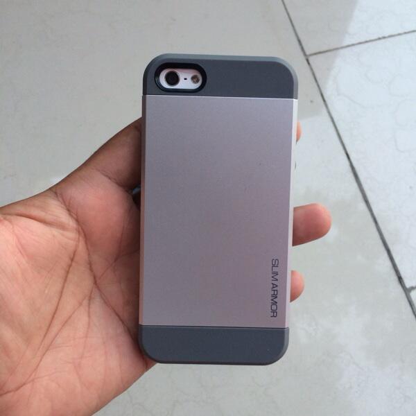 Spigen slim armor iPhone 5/5S new gress original COD Jogja
