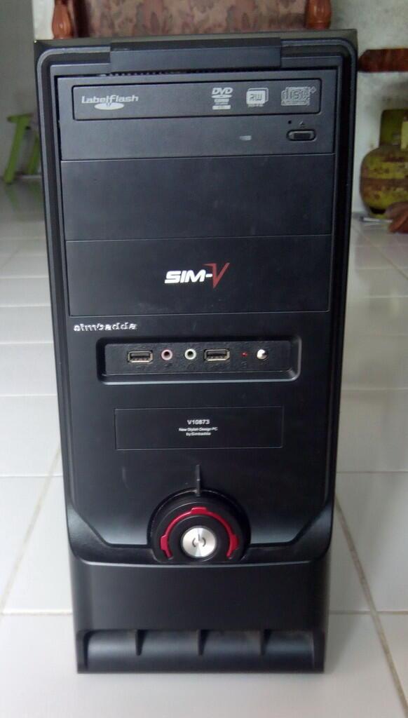 DESKTOP INTEL CORE 2 DUO E7300, VGA ASUS GT 610, RAM 2GB, HD 160GB - Bekasi