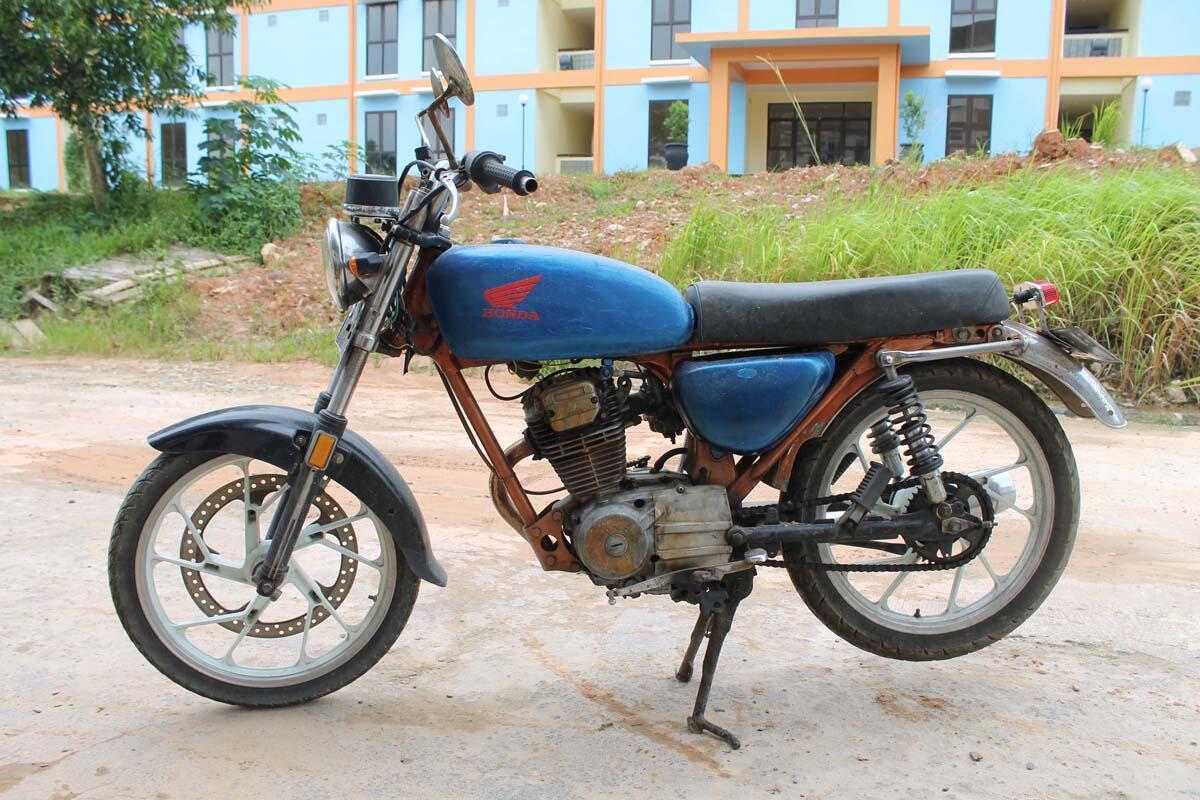 Terjual Jual Motor Gl 100 Modif Cb Bahan Plat B Kaskus