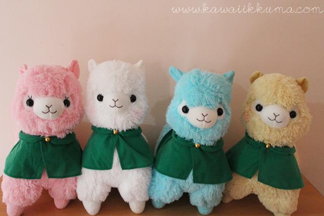Alpacasso/Arpakasso original & authentic dolls from AMUSE Japan! Cute & rare stuffs!