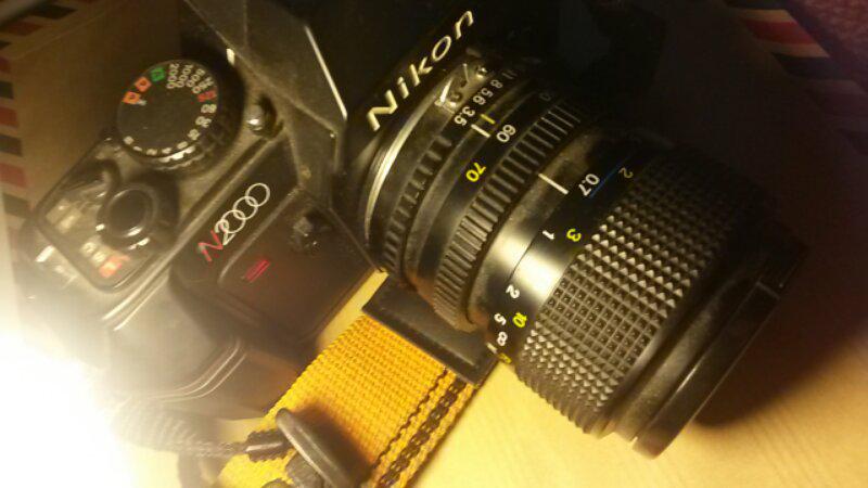   WTS Jual NIKON N 2000 & Lensa Cosina 35-70mm japan  