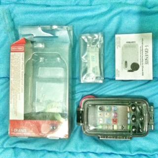 Underwater case for iPhone 4 or 4s