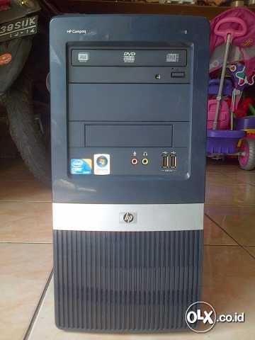 Murah Cpu Hp Core 2 Duo E7400 2,8 Ghz/hdd 160gb/ram 2gb/vga 1gb 128Bit