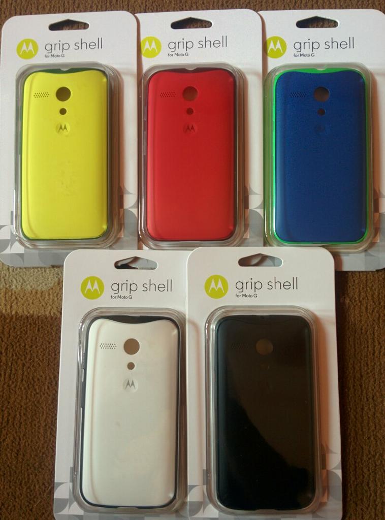 Gripshell dan Flipshell Ori Motorola Moto G
