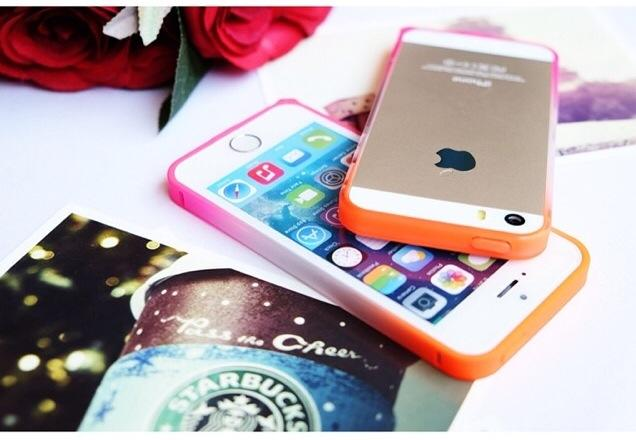 WTS BUMPER CASE OMBRE iPhone 4/4s 5/5s MURAH