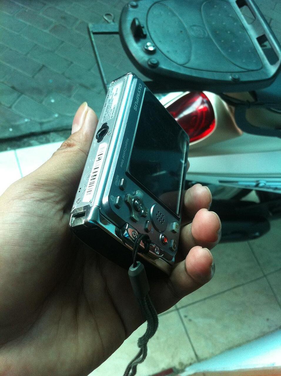 2nd camera outdoor waterproof OLYMPUS mju TOUGH 6020