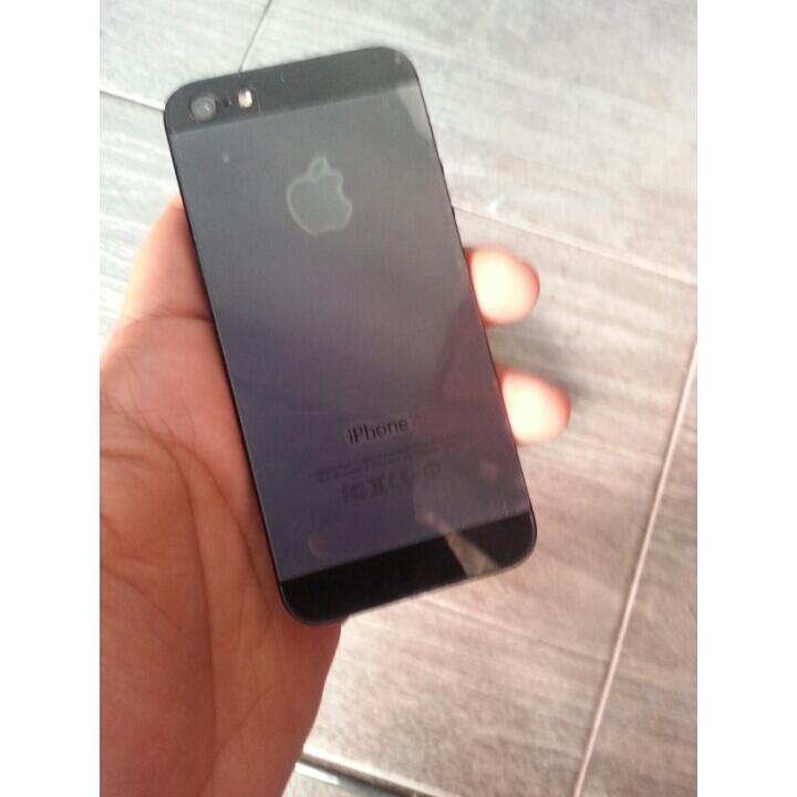 iphone 5 64gb FU black muraaah gresik surabaya