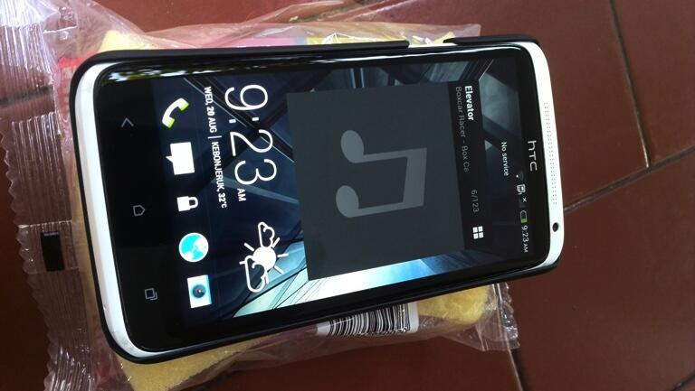 HTC one X putih quad core tegra internal 32gb