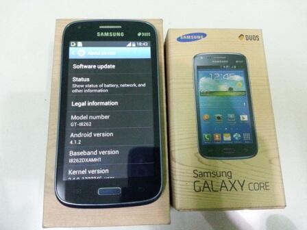 Handphone Android Samsung Galaxy Core Duos GT -I8262, Murah Saja