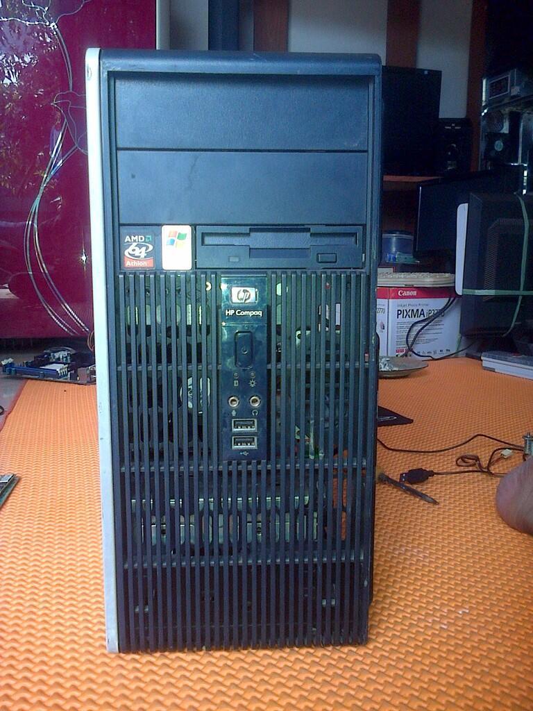 hp compaq dc5750 microtower
