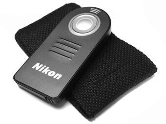 Wireless remote shutter infrared untuk kamera NIKON D3200 D5100 D7000 D90 ML-L3