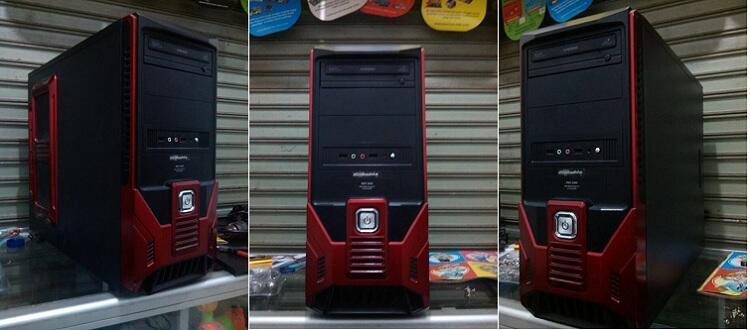 PC INTEL QUADCORE Q 6600 GAMER AND DESAIN LEGEND - BANDUNG (BDG) MURAH