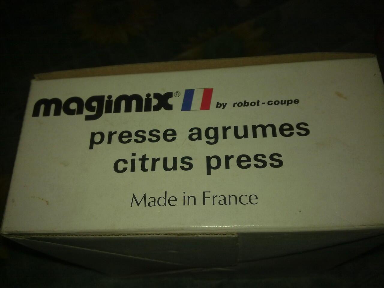 magimix citrus press antik made in france