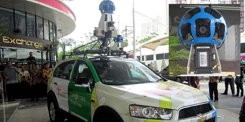 Akhirnya... Google Street View Mencakup Indonesia